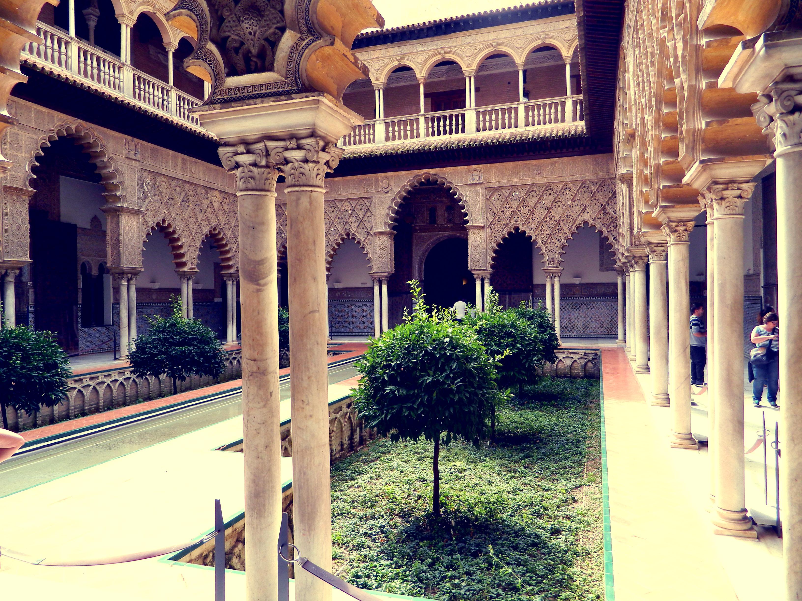 Wnętrza Pałacu Alcazar
