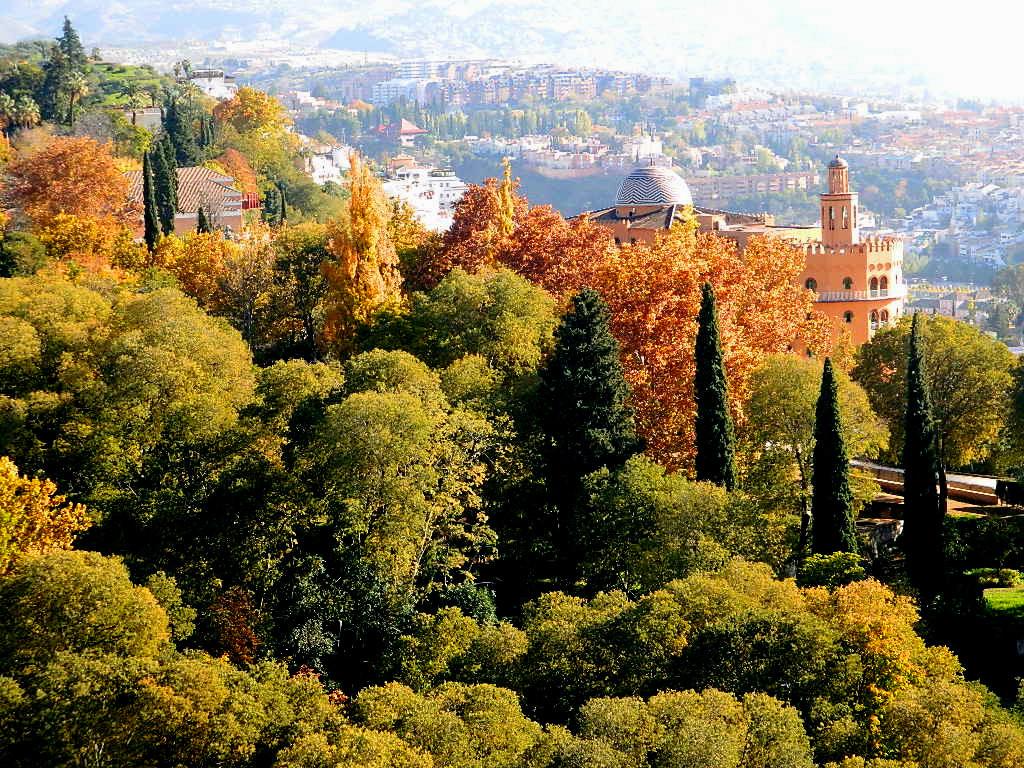 Granada - zdjęcie zrobione w listopadzie