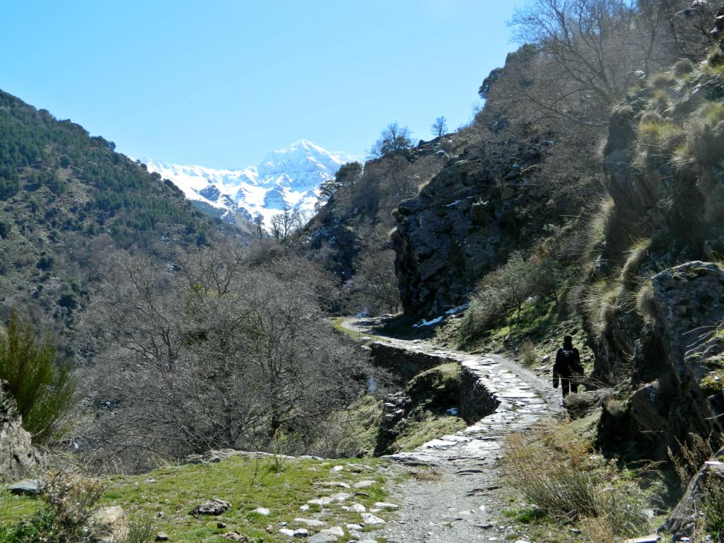 Vereda de Estrella - trasa w okolicach Granady