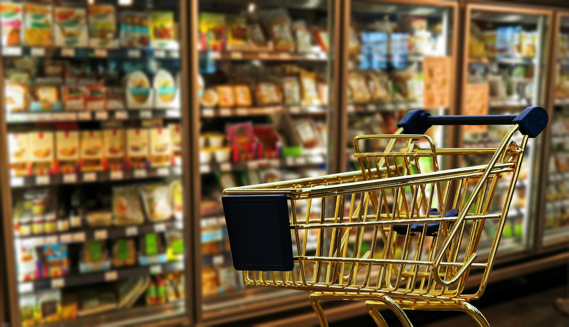 Pamiątki z supermarketu w Andaluzji