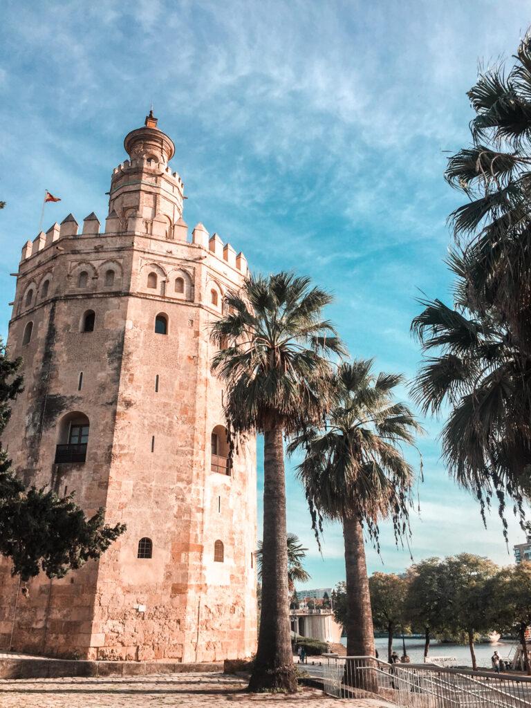 Złota wieża, Torre de Oro, Sewilla