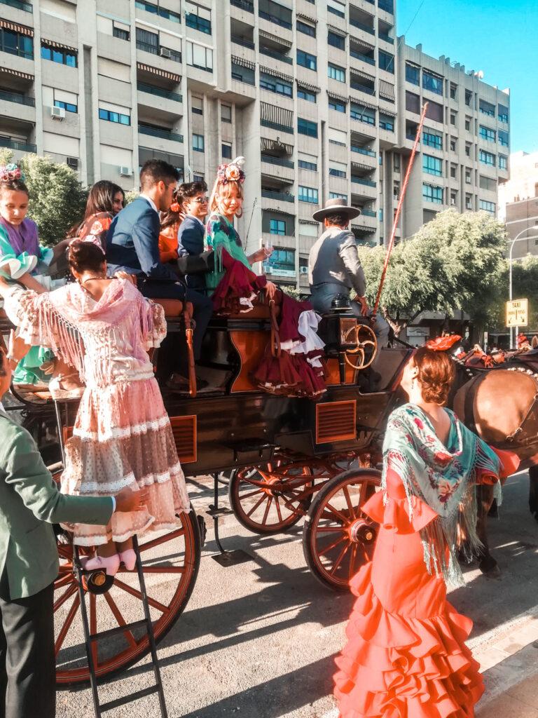 Feria de Abril Sewilla