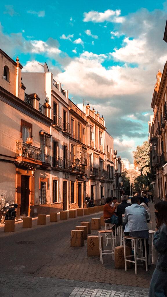 ulice w Sewilli, Andaluzja