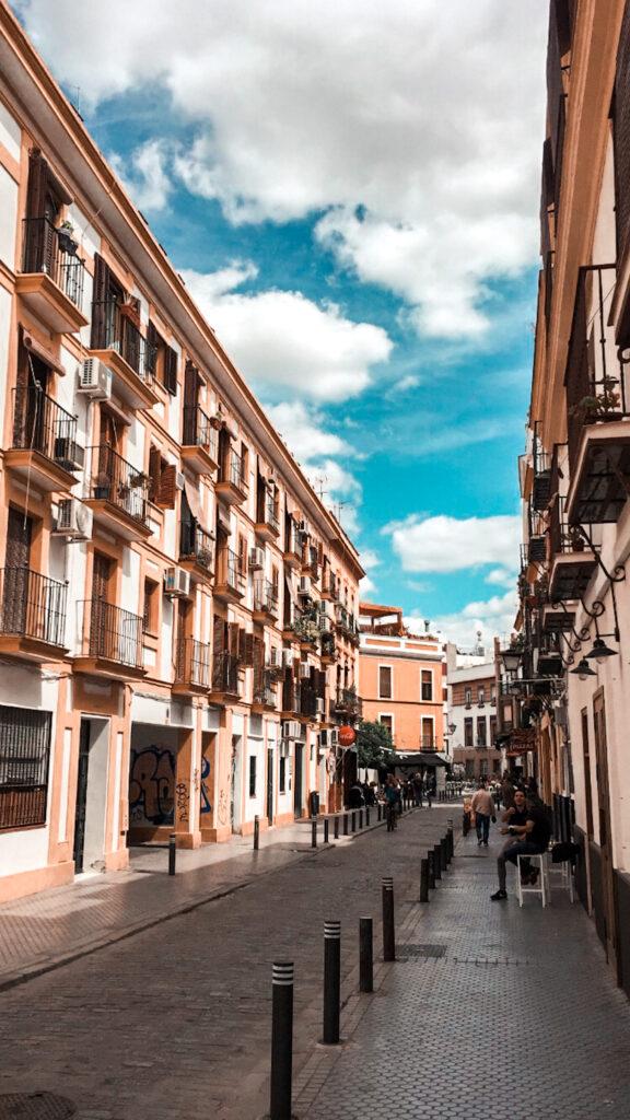 ulica w Sewilli, Andaluzja