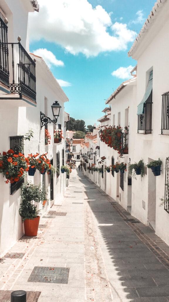 Mijas, pogoda, Andaluzja, maj