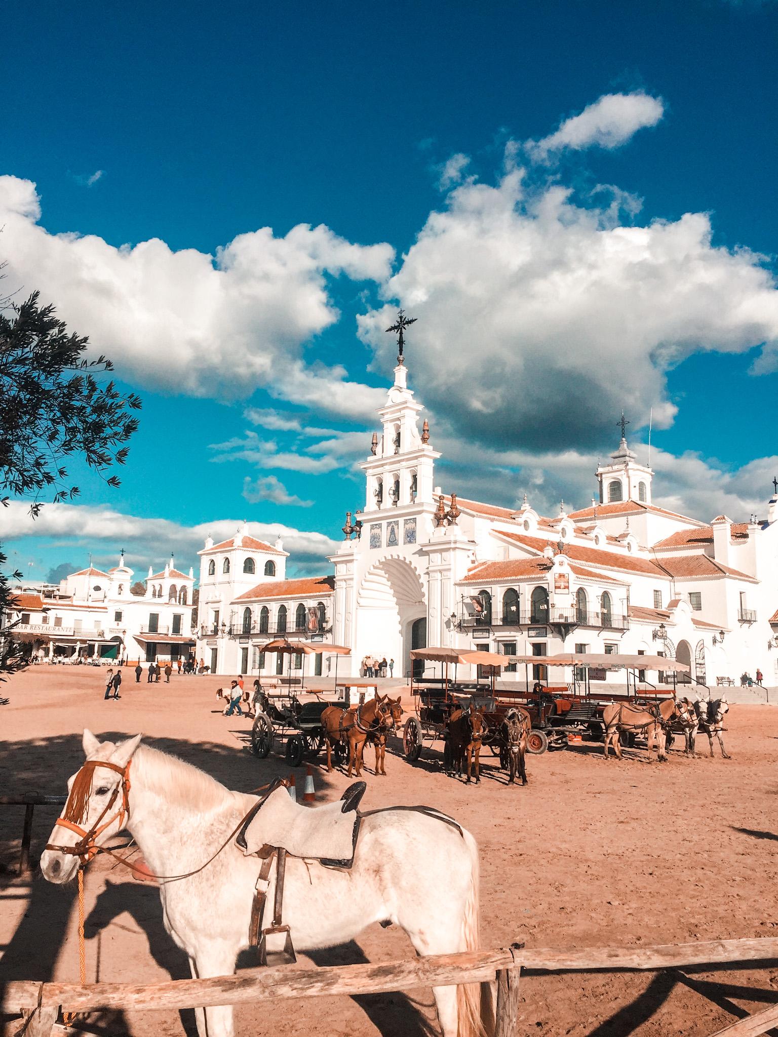 Zabezpieczone: Miasteczko El Rocio