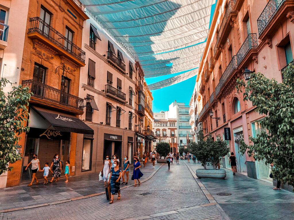 Sewilla, spacer, centrum, stare miasto, zabytki, zakupy w Sewilli
