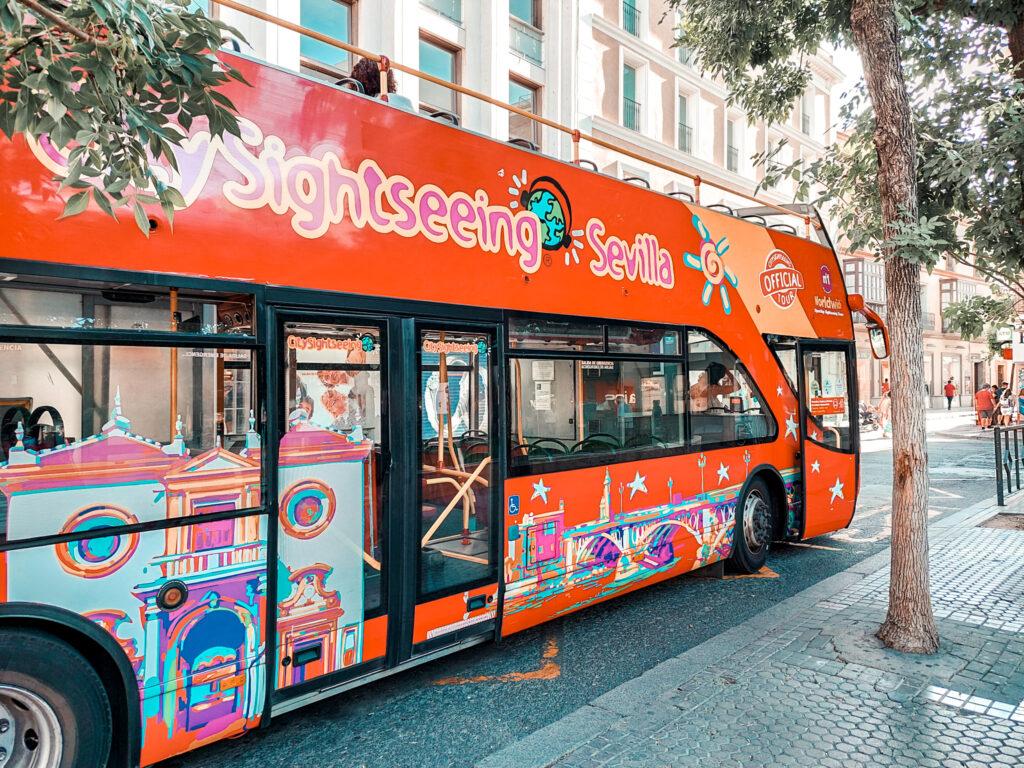 autobus turystyczny Sewilla