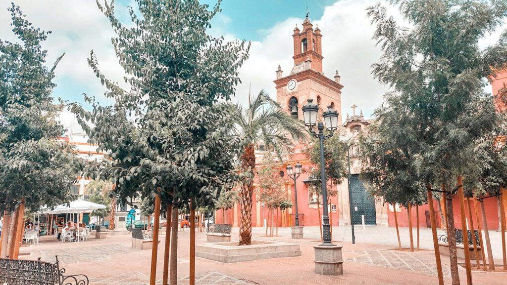 Plaza de San Lorenzo, Sewilla, Andaluzja, Hiszpania